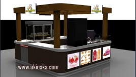 sanck food kiosk