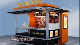 Nut kiosk design for outdoor