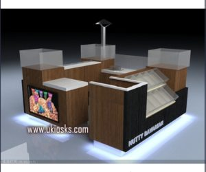 Made in China candy kiosk design in mall for sale