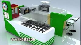 Snack kiosk   fast food  kiosk design in mall for sale