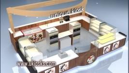 beauty food kiosk   coffee kiosk design in mall for sale