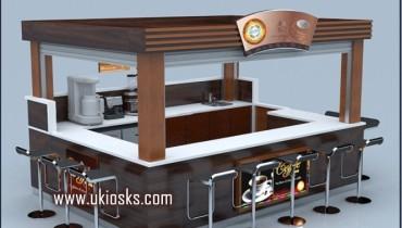 customized coffee kiosk | mall kiosk design in mall for sale