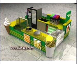4m by 3m corn kiosk design in mall for sale
