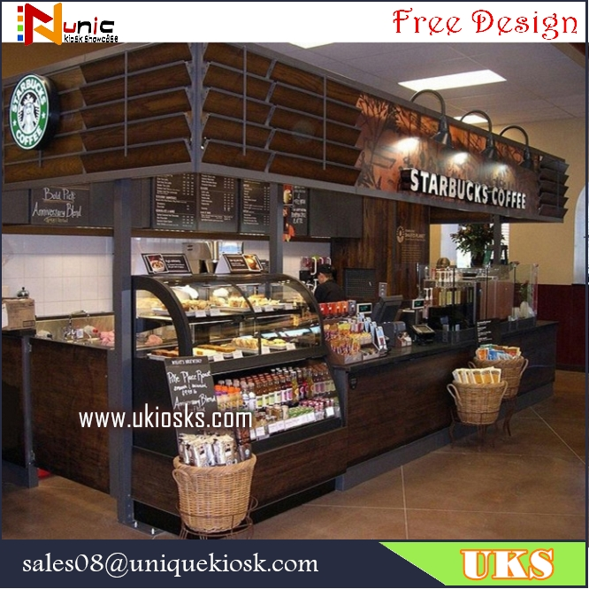 Starbucks coffee kiosk