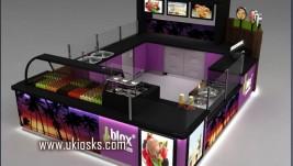 frozen yogurt kiosk for sale