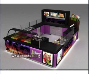 frozen yogurt kiosk for sale