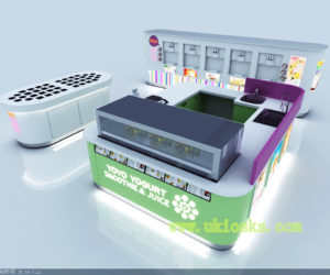 customized frozen yogurt shop design