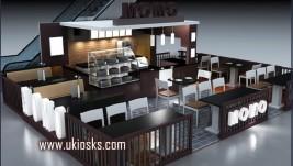 High quality customized coffee kiosk for sale