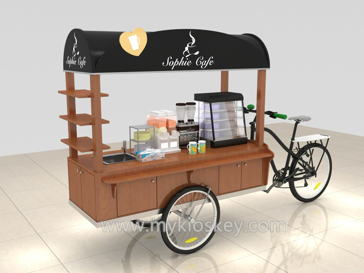 As You See This Picture It Is A Food Cart Can Seling Coffee Juice Orange Snack Size Usually 25m Length 08m Wide 22 M Hight