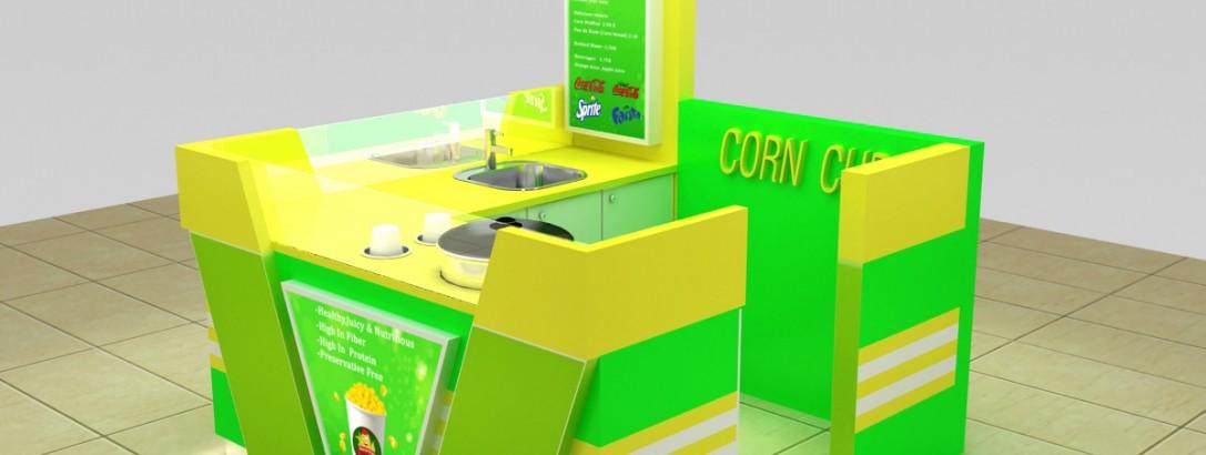 how to build a corn kiosk ?