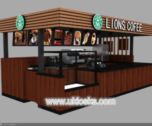 high quality coffee kiosk design for sale