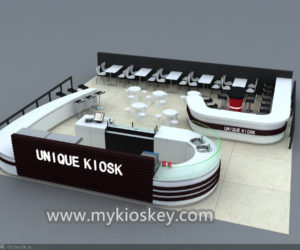 Romania coffee kiosk design for sale