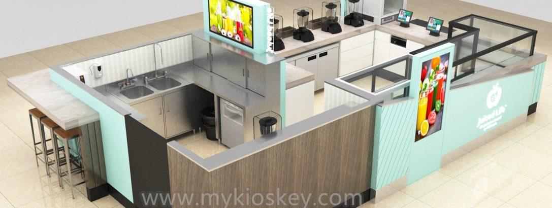 How to build a bubble tea kiosk ?