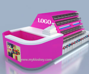 customized beaury candy kiosk design for sale