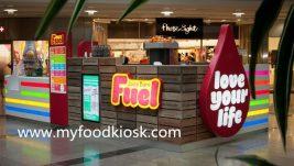 high end customized coffee kiosk design for sale