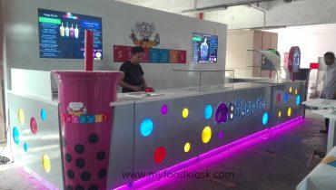 hot selling USA Simon mall food bubble tea kiosk for sale