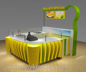 High end MINI sweet corn kiosk design for sale