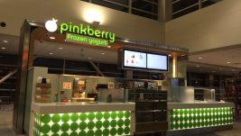 Pinkberry frozen yogurt kiosk and juice bar for sale