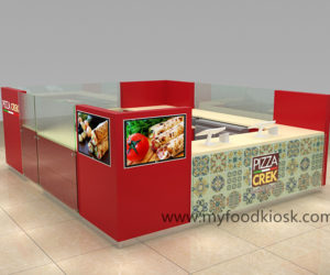 2018 hot selling fast food kiosk design for shopping mall