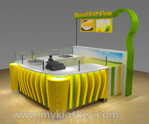 100+ most popular sweet corn kiosk design in mall for sale