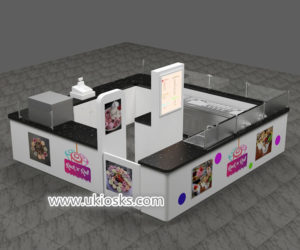 high quality fried ice cream kiosk design export to Australia