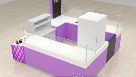 Hot sale sweety ice cream kiosk for shopping mall