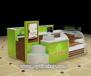 High quality popular Newest elegance coffee kiosk supplier
