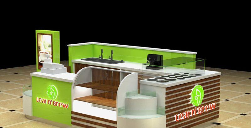 Most popular newest elegance coffee kiosk for US