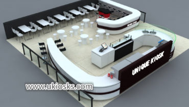 Coffee shop & Popular Modern coffee shop counter design for sale