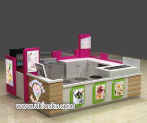 America popular Simon mall fried ice cream kiosk for sale