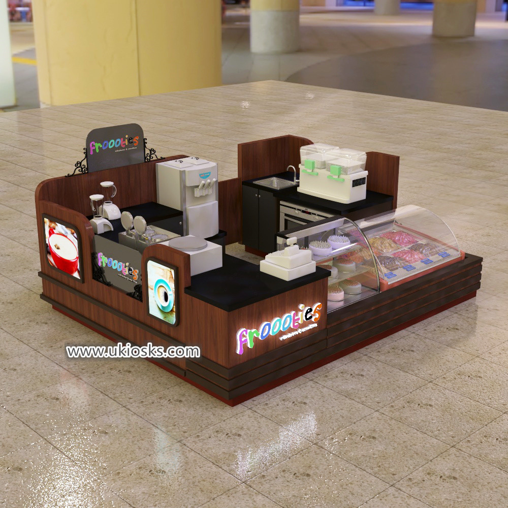 Best selling dipping ice cream kiosk for Mozambique