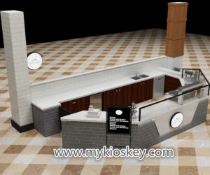 Modern commercial crepe kiosk supplier with factory price