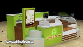 fresh juice bar kiosk export United stated