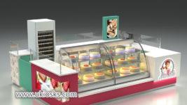 Spainpopular bubble tea kiosk design for shopping mall