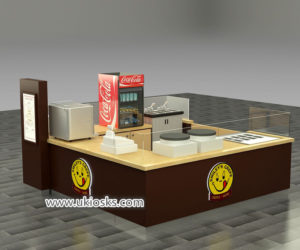 Commercial crepe kiosk design export to United stated